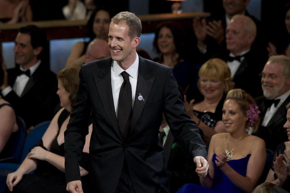 Pete Docter recibe el Oscar a la mejor película de animación