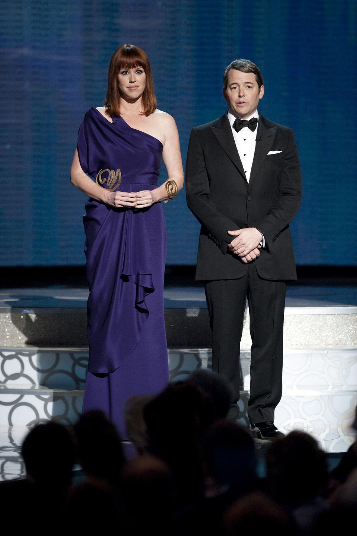 Molly Ringwald y Matthew Broderick