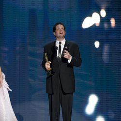 Michael Giacchino tiene un Oscar
