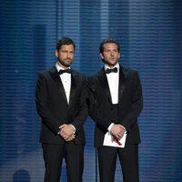 Gerard Butler y Bradley Cooper