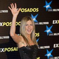 Jennifer Aniston en la première de 'Exposados'