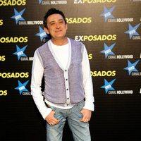 Mariano Peña en la première de 'Exposados'