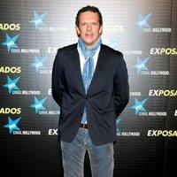 Joaquín Prat en la première de 'Exposados'