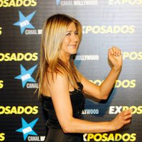 Jennifer Aniston en estreno de 'Exposados'