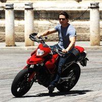 Tom Cruise por las calles de Sevilla