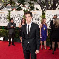 Andrew Garfield en los Globos de Oro 2011