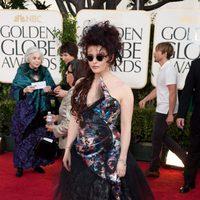Helena Bonham Carter en los Globos de Oro 2011