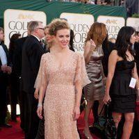 Scarlett Johansson en los Globos de 2011