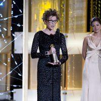 Annette Bening en los Globos de Oro 2011