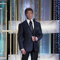 Sylvester Stallone en los Globos de Oro 2011