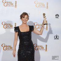 Melissa Leo con su Globo de Oro