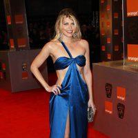 Meredith Ostrom escotadísima en los BAFTA