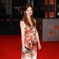 Bonnie Wright, Ginny en 'Harry Potter', en los BAFTA 2011