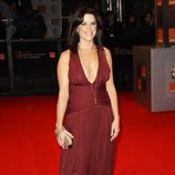 Neve Campbell de 'Scream' en los BAFTA 2011