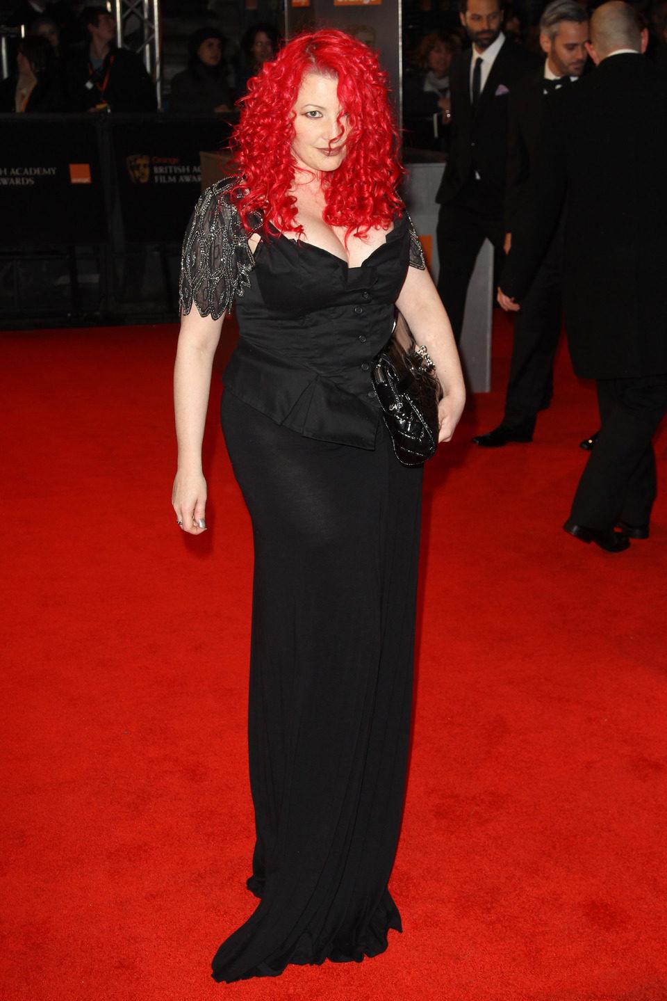 Jane Goldman, guionista de 'Kick-Ass, en los BAFTA 2011