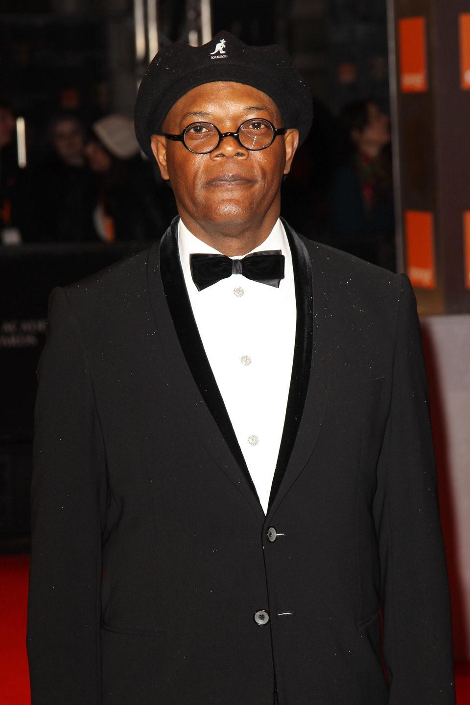 Samuel L. Jackson posa en los BAFTA 2011