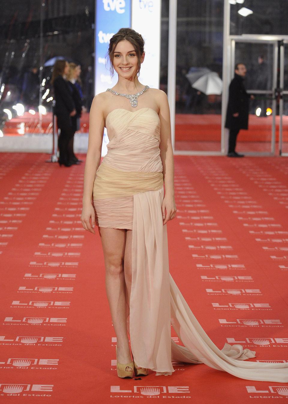 María Valverde en los Goya 2011
