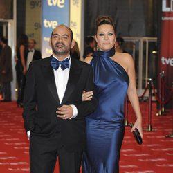 José Corbacho y Mónica Mira en los Goya 2011