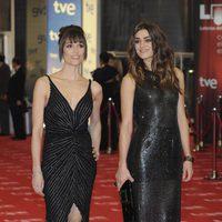 Laura Pamplona y Olivia Molina en los Goya 2011