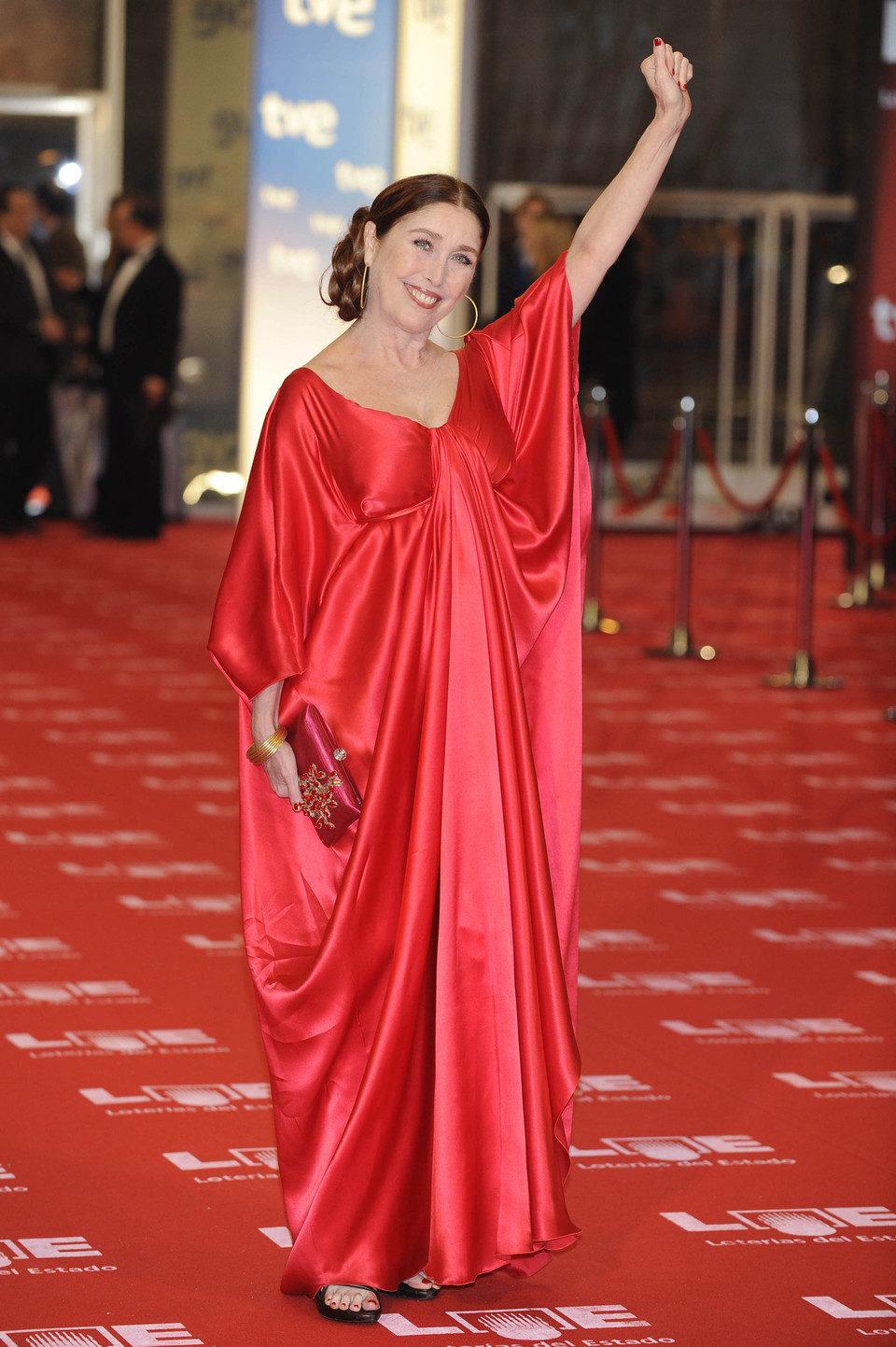 Verónica Forqué en los Goya 2011