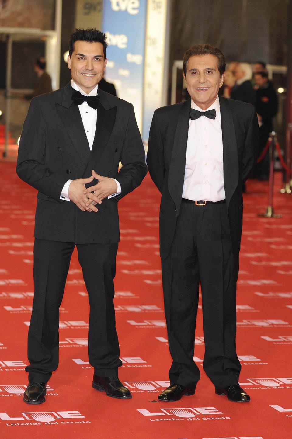 Andrés Pajares y Andrés Bruguera