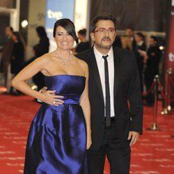 Andreu Buenafuente y Silvia Abril en los Goya de 2011