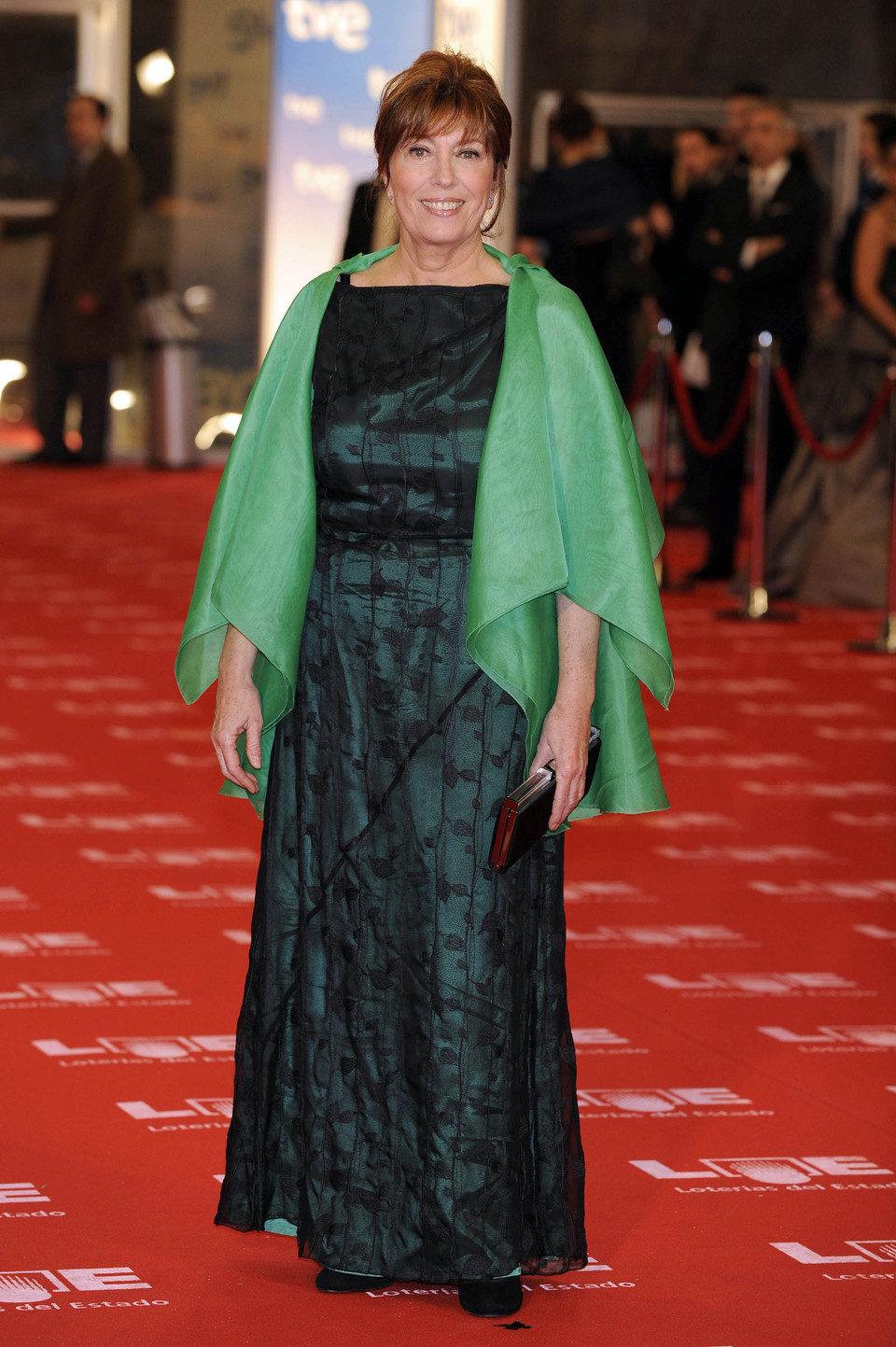 Mercedes Sampietro en los Goya 2011