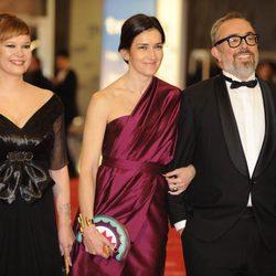 Leire Pajín, Ángeles Gonzalez Sinde y Álex de la Iglesia