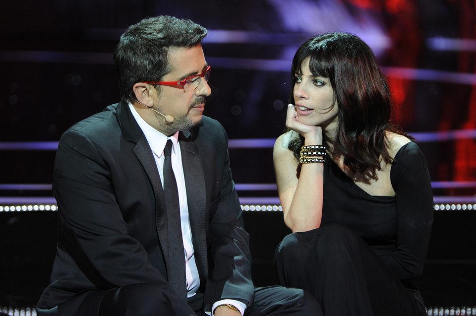 Andreu Buenafuente y Maribel Verdú en los Goya 2011