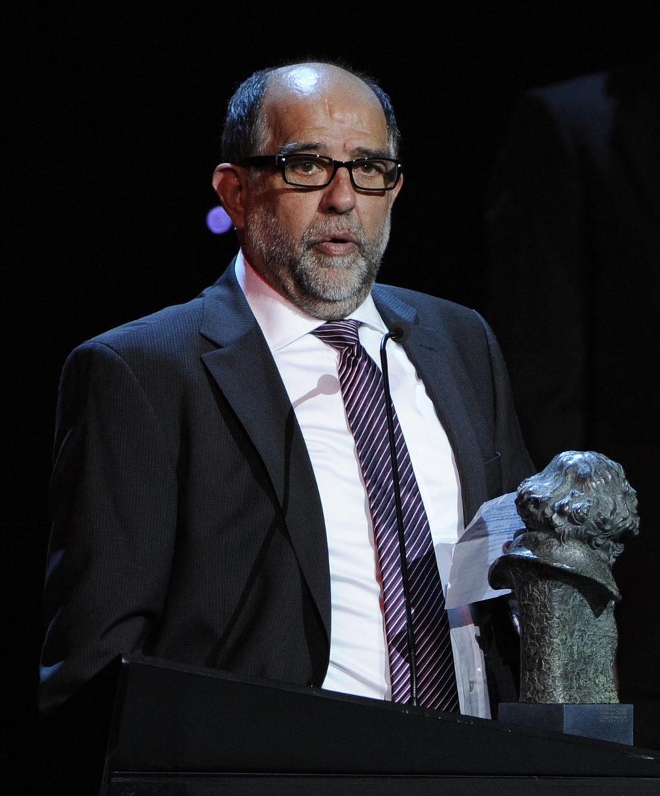 Reyes Abades recibe el Goya por los Mejores Efectos Especiales