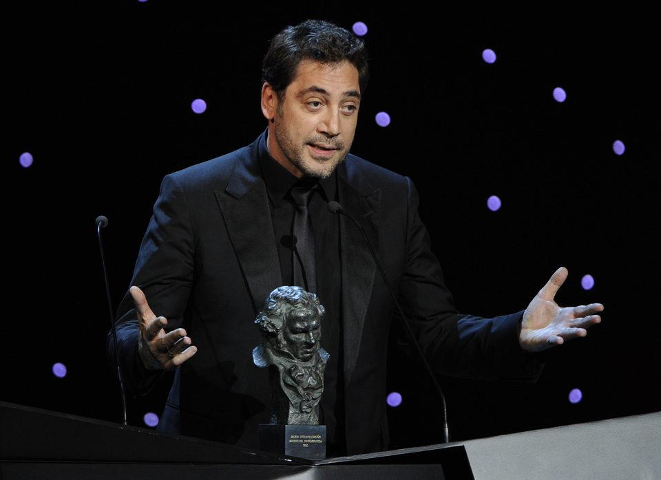 Javier Bardem recoge el Goya a Mejor Actor