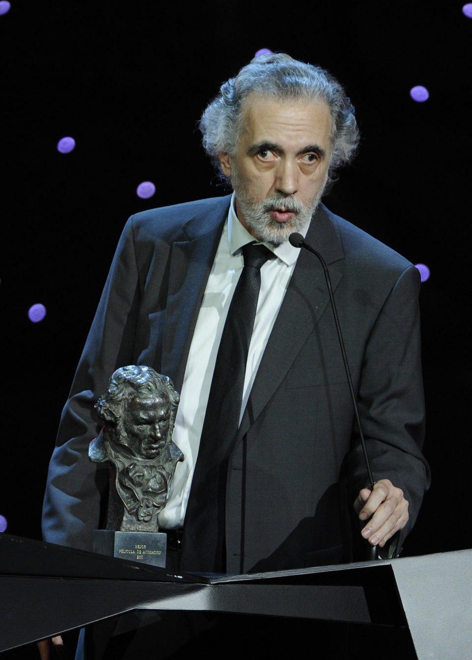 Fernando Trueba, tras ganar un premio Goya - Galería de ...