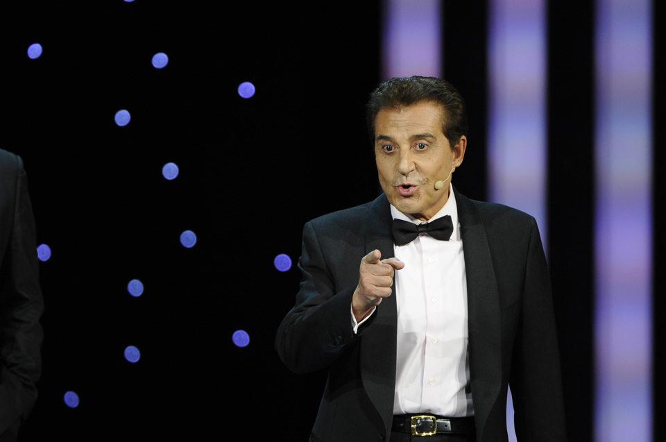 Andrés Pajares, en la gala de los Goya 2011