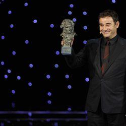 Eduard Fernández, en la gala de los Goya 2011