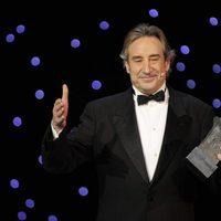 Juanjo Puigcorbé, en la gala de los Goya 2011