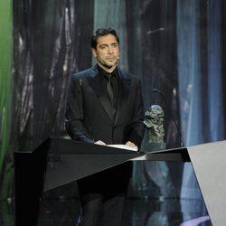 Javier Bardem, en los Goya 2011