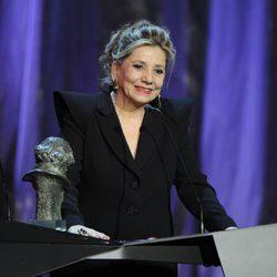 Isona Passola recoge el Goya a Mejor Película