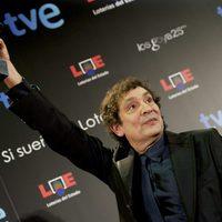Agustí Villaronga levanta orgulloso su Goya