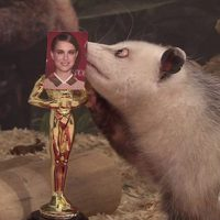 La zarigüeya Heidi elige a Natalie Portman como Mejor Actriz