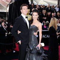 Armie Hammer de 'La red social' en los Oscar 2011