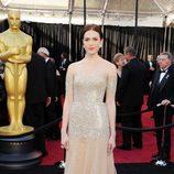 Mandy Moore en la alfombra roja de los Oscar 2011