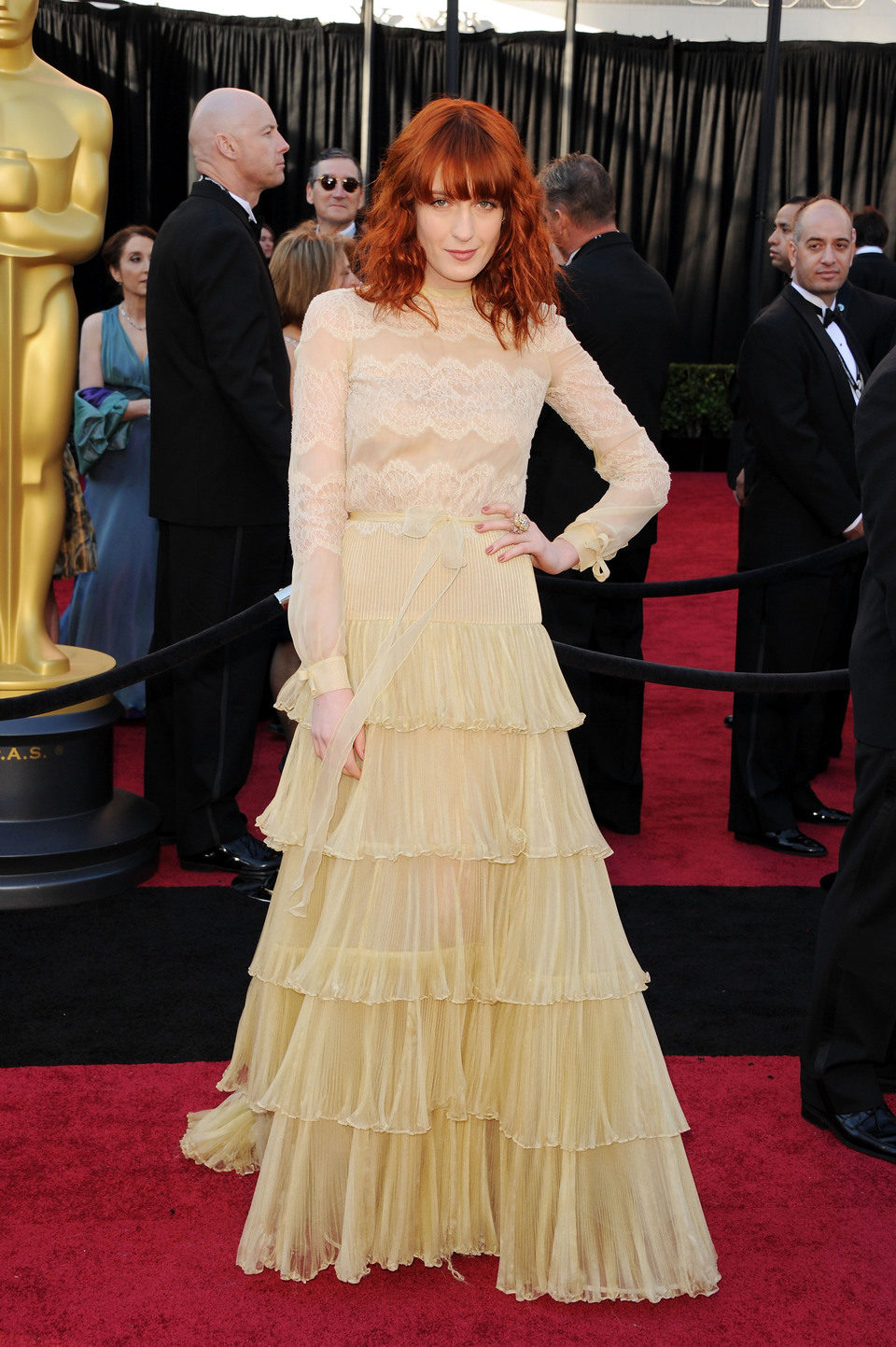 Florence Welch llega a los Oscar 2011