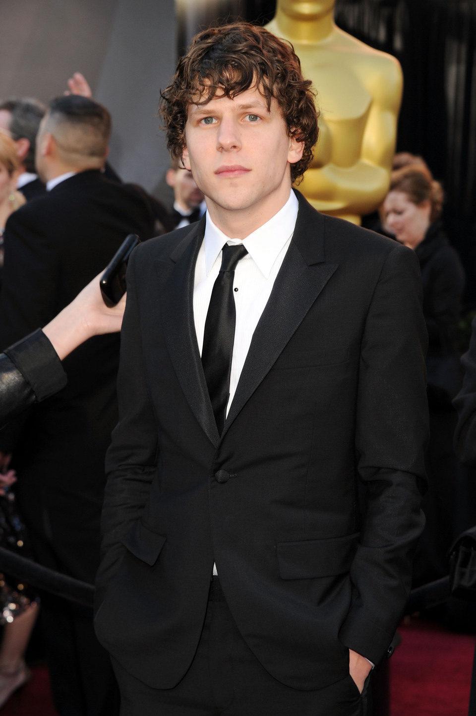 Jesse Eisenberg llega a los Oscar 2011