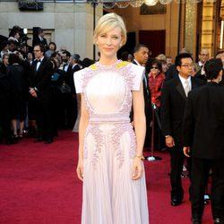 Cate Blanchett posa en los Oscar 2011
