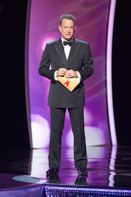 Tom Hanks presentador en la ceremonia de los Oscar 2011
