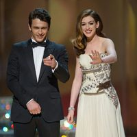 James Franco y Anne Hathaway en los Oscar 2011