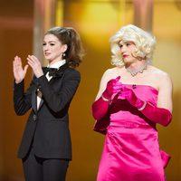 James Franco y Anne Hathaway intercambian los papeles