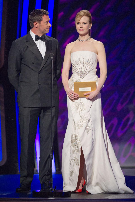 Hugh Jackman y Nicole Kidman en los Oscar 2011