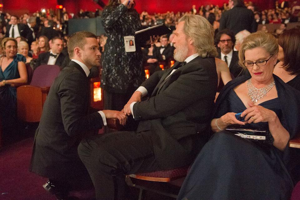 Justin Timberlake junto a Jeffrey L Bridges