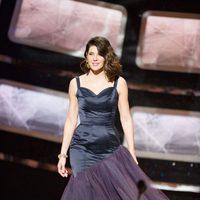 Marisa Tomei presentando los Oscar 2011